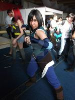 The Avatar is Back! || Korra Cosplay by GiokaTenshi