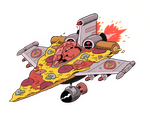 PIZZA JET by mrdynamite