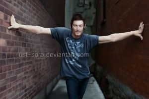 Ladies and Gentlemen: Mr. Norman Reedus by just-sora