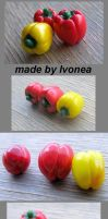 Paprika , Sweet Peppers by Ivonea