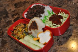Soboro Bento by Demi-Plum