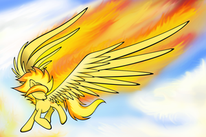 Fire Feathers by flamevulture17
