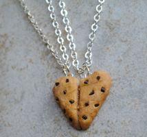 Cookie Friendship Necklace by ClayRunway