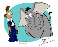 Ned and Horton by Slasher12