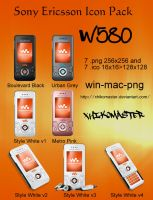 Sony Ericsson W580 Icon Pack by XhikoMaster