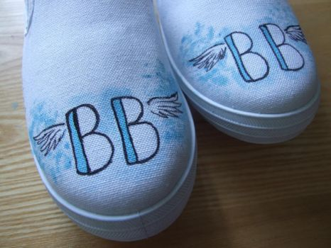 custom shoes for Brydie by FiveandDive