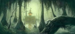 Swamp concept by agoliversen