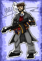 {LoL} Mafia Graves the Outlaw by Jeiynx