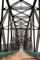 Chain Of Rocks Bridge IV by rjcarroll