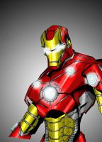 Iron Man by LloydBridgemanInk
