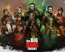 The Big Bang Theory by jazzyjaxxdeviant82