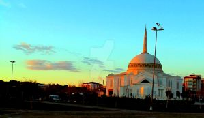 mosque by zahrey