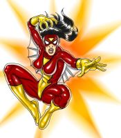 DSC_SpiderWoman by danitoons