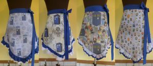 Doctor Who Aprons by Timestitcher