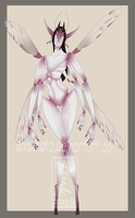 Auction #28 fairy [clsed] by Aivomata