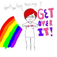 FCKH8:Get over it by Kaimu-KittyQ