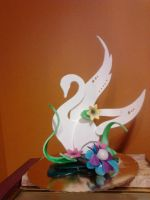 Chocolate Swan Display 2 by sunflora263