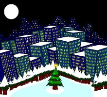 Christmas City by MegaJamesStudios