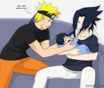 Papa's Pretty Hair by PRoachHeart-Sasuke