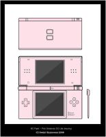 MS Painted Nintendo DS Lite by Sweet-Blessings