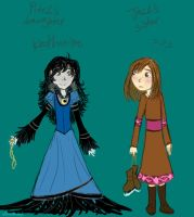Daughter - Sister --designs by HezuNeutral