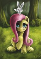 Fluttershy by Reillyington86