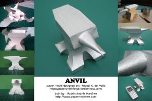 Anvil - paper model by Rubenandres77