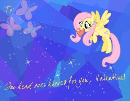 MLP Valentine Fluttershy: Revamped by JiMMY--CHaN