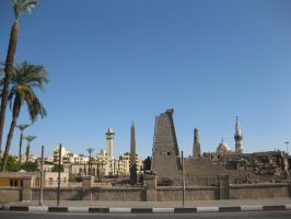 Luxor, Street View by sunb1rd