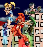 Power Puff Girls COntest entry by MOtero