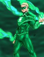 Green Lantern Alan Scott 2 by spriteman1000