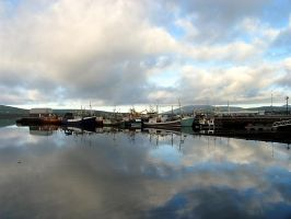 Dingle Harbour by parallel-pam
