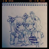 .:CONTEST: Draw Izka or Amelia:. by Risky-su