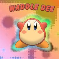 Kirby of the Stars: Waddle Dee by DreamlandMessenger