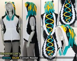 Genetic Skunk Hoodie! by lemonbrat