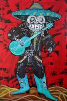Spirit Of The Mariachi by barbosaart