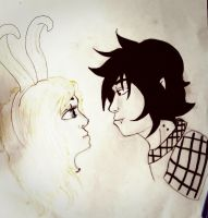 Fionna and Marshall lee (fiolee) by ArtRMe