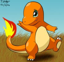 Charmander's Stroll by pdutogepi