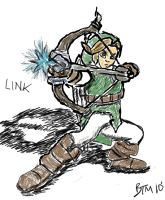 Link Sketch by The-B-Meister