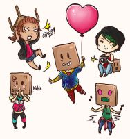 MMP chibi babies by Magdorf