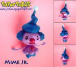 Mime Jr. Papercraft by xDCosmo