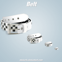 Belt icon by Miniartx