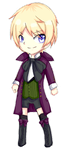 Alois Trancy Chibi ANIMATED by RaionKoneko