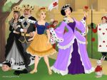 Princess Emma and Queen Snow White of Misthaven by SingerofIceandFire