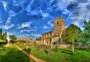 Kingham Church 02 by s-kmp