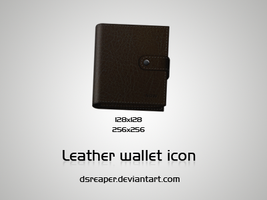 Leather Wallet Icon by dsreaper