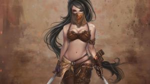 Warrior Girl by andon29