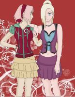 Sakura and Ino: Best Friends? by Tigers13
