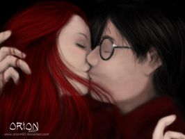 Harry and Ginny by Orion490