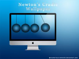 Wallpaper - Newton's Cradle by mysterious-emerald